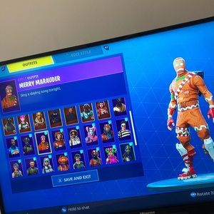 Fortnite account for Xb1